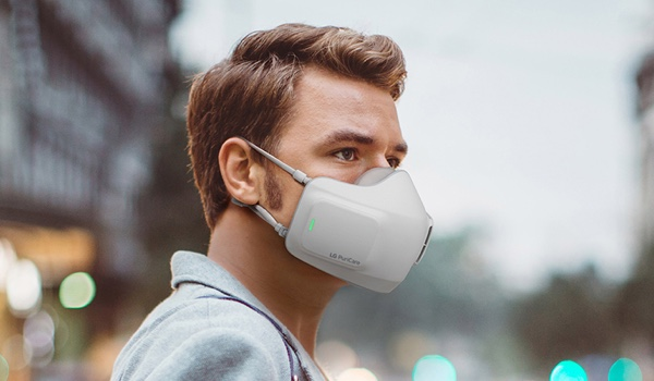 LG Air Purifier Mask Makes Breathing Easy